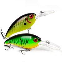 Fishing Lure Baits Treble Hooks Crankbait 10cm 14g Cranks Wobblers 3D Eyes Artificial Hard Bait Carp Pike Pesca Jerkbait Fish Tackle