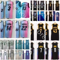 Top Calidad 2021 Nuevo Baloncesto Westbrook Kyle Lowry Zach Lavine Derrick Rose Pascal Siakam Butler Durant Irving Young Embiid Mens Jerseys
