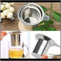 Coffee Tools Kitchen, Dining Bar Home & Gardenstrainer Stainless Steel Mesh Infuser Reusable Loose Tea Leaf Spice Filter Drinkware Kitchen Ae