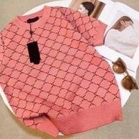 Женщины свитер шерсть футболка и длинные рукава вязальные толстовки для леди Slim Ewnwears модный стиль с буквами Wmbroidery Tops Waters Size S-XL