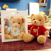 50CM Plush Toys Teddy Bear Doll Soft Christmas Stuffed Animals Toy Children's Birthday Gifts Couple Confession Gift Supplies Wholesale