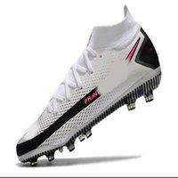 أحذية كرة القدم Mercurial Superfly CR7 VII 7 سفاري كوريا النخبة الطول الموجي في المستقبل مختبر فرط قرمزي FG كرة القدم الأحذية المبتدئين