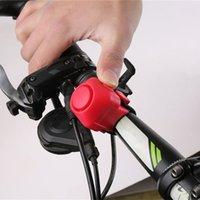Bike Electronic Horn Horn 130 DB Avvertimento Avvertimento Sicurezza Elettrica Campanello Polizia Sirena Bicicletta Manubrio Bicybar Allarme Anello Bell Cycling Accessori
