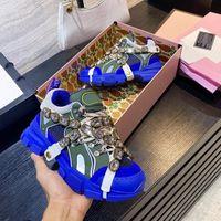 2021 Italie Luxurys Designer Chaussure Qualité ACE Brodé Hommes Casual Brand Shoes Mode En Cuir Sneakers Femmes