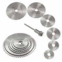 HSS-Metall-Kreissäge-Scheiben-Radklingen abgeschnitten Dremel Bohrer Rotationswerkzeuge Feine Präzisionsschnitte für kleine Abschnitte