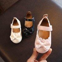 Sneakers Girl Shoes Kids Toddler Girls Baby Princess Bow Sandals Spring Single Soft-soled