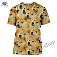 Anime 3D Baskı Oyunu T Gömlek Hayvan Doge Streetwear Köpek Erkekler Kadınlar Moda T-shirt Harajuku Çocuk Gömlek Homme Tişört A206 Erkek T-Shirt