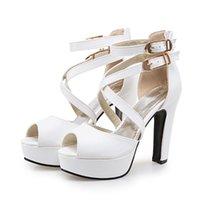 Sandals 2021 Ladies Shoes Sandalias Mujer Gladiator Women Big Size 34- 50 High Heel Pumps 3126