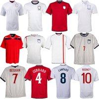 2000 20002 20004 2006 2008 2012 2012 2013 Ретро Футбол Джерси 2003 2005 2007 Gerrard Beckham Lampard Rooney Owen Terry Angland Classic Weathing футбол