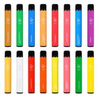 Original Elf Bar 800 Electronic Cigarettes Vape Pod Disposable Device hotsale 800Puffs 550mAh Battey 3.2ml disposables 2% and 5% Strength 16Colors available