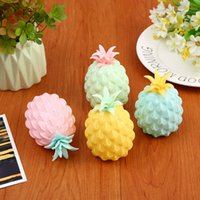 8 cm 11cm Pineapple shape decompression toys arbitrarily pinch out of various shapes