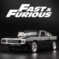 MINI AUTO 132 Dodge Charger The Fast And The Furious Alloy Car Models kids toys for children Classic Metal Cars