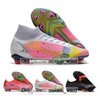 선물 가방 망 높은 탑스 축구 부츠 Ronaldo CR7 Mercurial Vapores 14 XIV Superfly 8 VIII 엘리트 FG 클리트 Neymar Acc 축구 신발