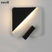 Wall Mounted Bedside Reading Lamp LED Wall Light indoor Hotel Guest Room bed room Headboard book read Light with switch
