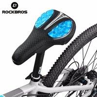 ROCKBROS Bike Saddles Cover Liquid Silicone Front Saddle Covers Mountain MTB Road Bikes Soft Sponge Gel Cushion Bicycle Parts