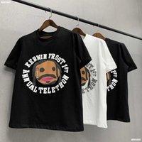 Meimeichao cpfm com de marque feidongchao mousse imprimée manches courtes haute rue style hip hop casical street couple couple t-shirt