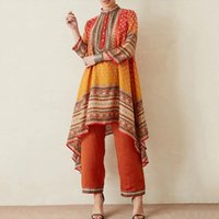Casual Dresses 2021 Plus Size 5XL Herfst Boho Malaysia Printed Bohemian Shirt African Women's Clothing Africaine Femme Vestidos