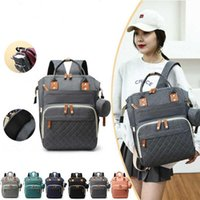 Diaper Bags Mommy For Baby Carriage Large Capacity Travel Wet Nappy Backpacks With USB Charger Stroller Bag Backpack