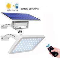 Solarlampen 48 LED-Licht Dual Nutzung Outdoor Garten Porch Wandleuchte PIR Motion Sensor Fernbedienung Sonnenlicht Wasserdichte Straße