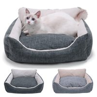 Cat Beds & Furniture Pet Bed For Dogs House Dog Large Pets Products Puppies Mat Lounger Bench Sofa Supplies