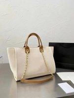 Дизайнеры сумки сумки сумки европейские Tote американский стиль женские мода высочайшее качество холст письма сумка пляжа роскошные дамы повседневные покупки