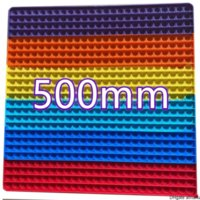 50CM!!! Super Big Size Push Bubble Fidget Toys Autism Needs Squishy Stress Reliever Rainbow Toys Adult Kid Funny Anti-stress Fidget Party Gifts IN STOCK CJ08