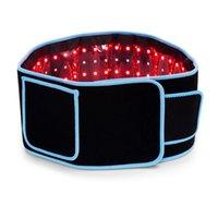 جديد المزدوج الطول الموجي LED ضوء الليزر ليزر الإغاثة lipo التخسيس آلة الجسم contouring الأشعة تحت الحمراء ليبو حزام