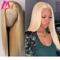 613 Blonde Lace Front Human Hair Wigs 4x4 Closure 13x4 Straight Hd Frontal Wig Full 30 Inch Pre Plucked For Black Women