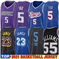 Jersey de basketball 2021 Mens 23 8 Jerseys