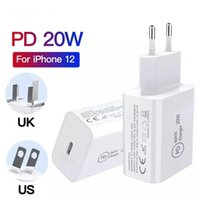 USB C 20W charge PD for iPhone 12 xiaomi sumsung Chargers USB type C outputs power supply adapter suit for EU US UK socket