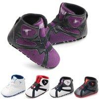 Zapatos de bebé niños recién nacidos niñas cuna zapatos primeros caminatas niños niños pequeños suela blanda zapatillas de deporte casuales 0-18 meses