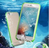 NEW TYPE Waterproof phone Cases Shockproof Underwater Diving full Cover Bag Case For iPhone12pro x xr 8 7 7plus 6 6s plus 5s
