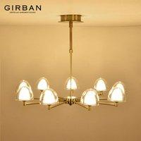 Living room chandelier modern restaurant creative personality atmosphere light  bedroom lamp Nordic style pendant lamp