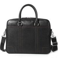 Banca da uomo in vera pelle da uomo borsa per laptop borsa per laptop sezione trasversale da uomo borsa per affari business borse # 301