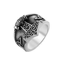 Wedding Rings 2021 Design Viking Anchor For Men Elegant Stainless Steel Engagement Bands Female Jewerly Women Accessories