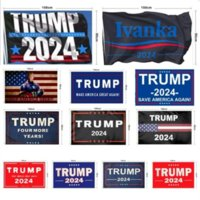 New Trump 2024 Flag U.S. Presidential Campaign Flag 90*150cm 3*5Ft Banner Flag For Home Garden Yard 13 Styles fast delivery