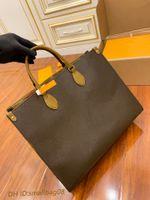 الأزياء OnThego M44576 M44925 المرأة الفضلات المصممين أكياس 2021 جلد طبيعي حقائب رسول crossbody الكتف حقيبة اليد محفظة محفظة المرأة حقيبة الظهر