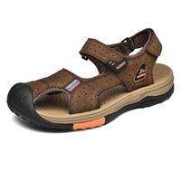 Terlik Siyah Tasarımcı Kapalı Hombres Erkek Sapatillas Yarım Terlik-Erkekler Yumuşak Ayakkabı Seguridad Verano Cuero Flip Andar Sole 45