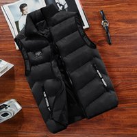 Men's Jackets 2021 Cotton Vest Autumn And Winter Down Korean Fashion Loose Casual Coat