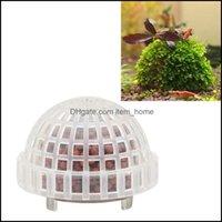 Decorations Aquariums Pet Home & Gardendecorations Diy Aquarium Fish Tank Moss Ball Filter Decor For Live Plant Aquatic Supplies #7 Drop Del