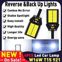 W16W LED T15 921 CANBUS 전구 자동차 액세서리 자동차 용품 자동 다이오드 램프 C1 C5 C3 비상 사태의 역방향 조명