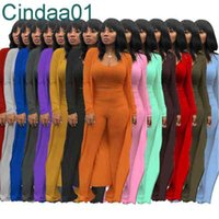 Women Tracksuits 3 Piece Set Designer Outfits Slim Sexy Knited Solid Color High Elasticity Crop Top Wide Leg Pants S-XXL 14 Colours
