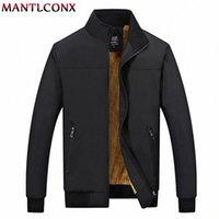 Mantlconx Kış Ceket Erkekler 2019 Marka Rahat Erkek Ceketler ve Mont Kalın Erkekler Dış Giyim Ceket Erkek Giyim Polar Kalınlaşmak Mont Y23A #