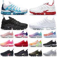 vapormax plus tn vapors vapor max Yeni TN Plus MensbuharKoşu Ayakkabıları Erkekler Kadınlar Ourdoor Eğitmenler Tüm Kırmızı Siyah Hiper Mavi Bayan Spor Sneakers Max Boyutu 36-47