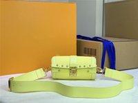 مصمم فاخر بابيلون جذع M57835 سلسلة جلد حقيبة كتف حقيبة crossbody الحجم: 20 سنتيمتر
