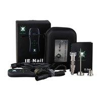 Аксессуары для курения 100% оригинальные аутентичные LTQ VAPORE IE Nails Device Hybrid Quatz DAB E Nail для воска сухой травы контроль температуры набор DHL бесплатно
