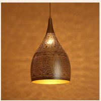 Pendant Lamps Arab Style Chandelier Minimalist Luxury Modern LED Lamp Iron Restaurant Dining Room Bar Indoor Lighting