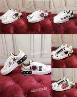 Dolce Gabbana shoes 2021 숙녀 스니커즈 최고 품질의 남성 가죽 캐주얼 신발 플랫폼 인쇄 패턴 커플 패션 개성 야생 스포츠 신발