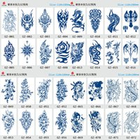 Autocollant de tatouages Étanche Divers 160styles Tatouage Hommes Femmes Tatouages de transfert Jetable Haute Qualité