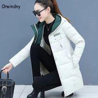 Orwindny Women Thicken Parkas Hooded 2020 New Winter Coat Women Plus Size S-3XL Wadded Jacket Long Parka Gilrs jaqueta feminina y4x1#
